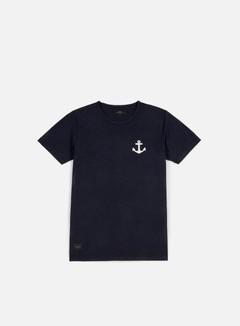 Makia - Anchor T-shirt, Indigo 1