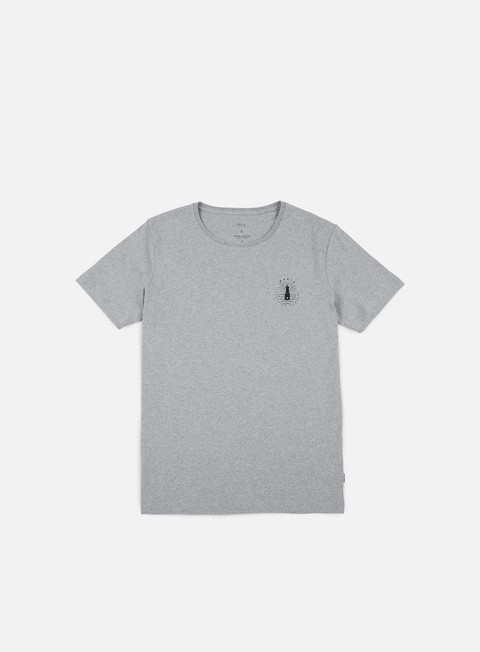 t shirt makia beam t shirt light grey
