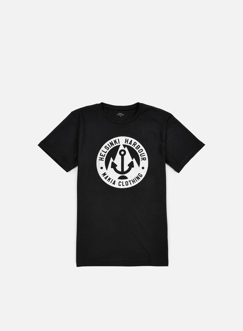 t shirt makia harbour t shirt black