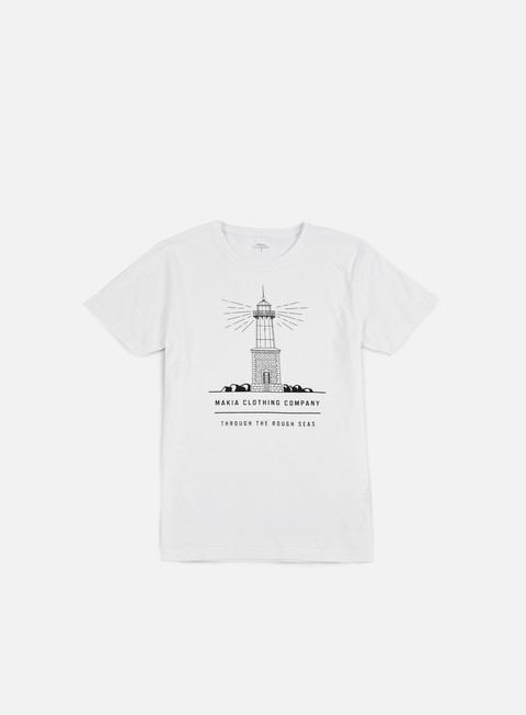 t shirt makia lighthouse t shirt white