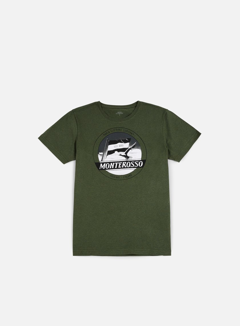 Makia - Local T-shirt, Green