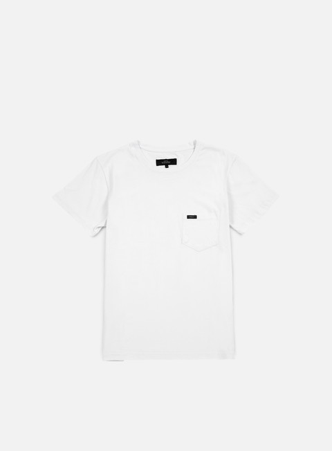 t shirt makia pocket t shirt white