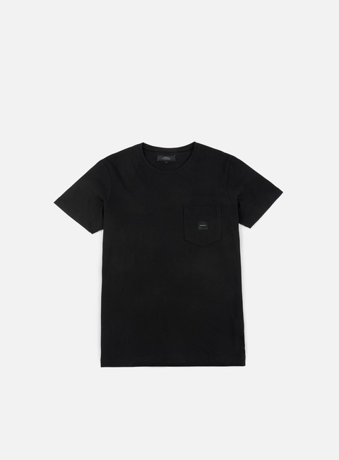 t shirt makia square pocket t shirt black