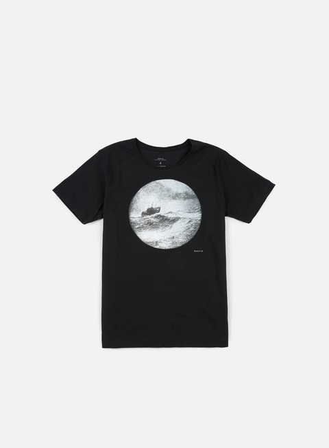 t shirt makia telescope t shirt black