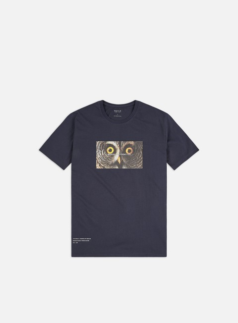 Short Sleeve T-shirts Makia Von Wright Stare T-shirt