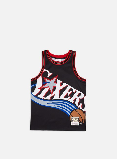 Basketball Jerseys Mitchell & Ness Big Face Jersey Philadelphia 76ers