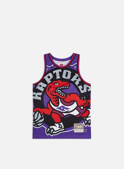 Basketball Jerseys Mitchell & Ness Big Face Jersey Toronto Raptors