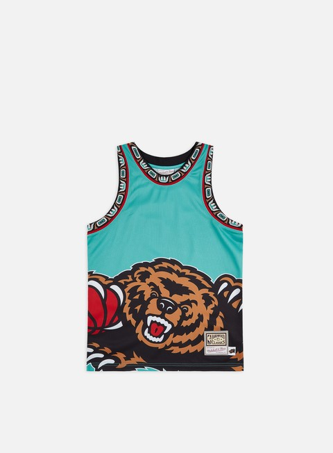 Sport Team T-shirts Mitchell & Ness Big Face Jersey Vancouver Grizzlies
