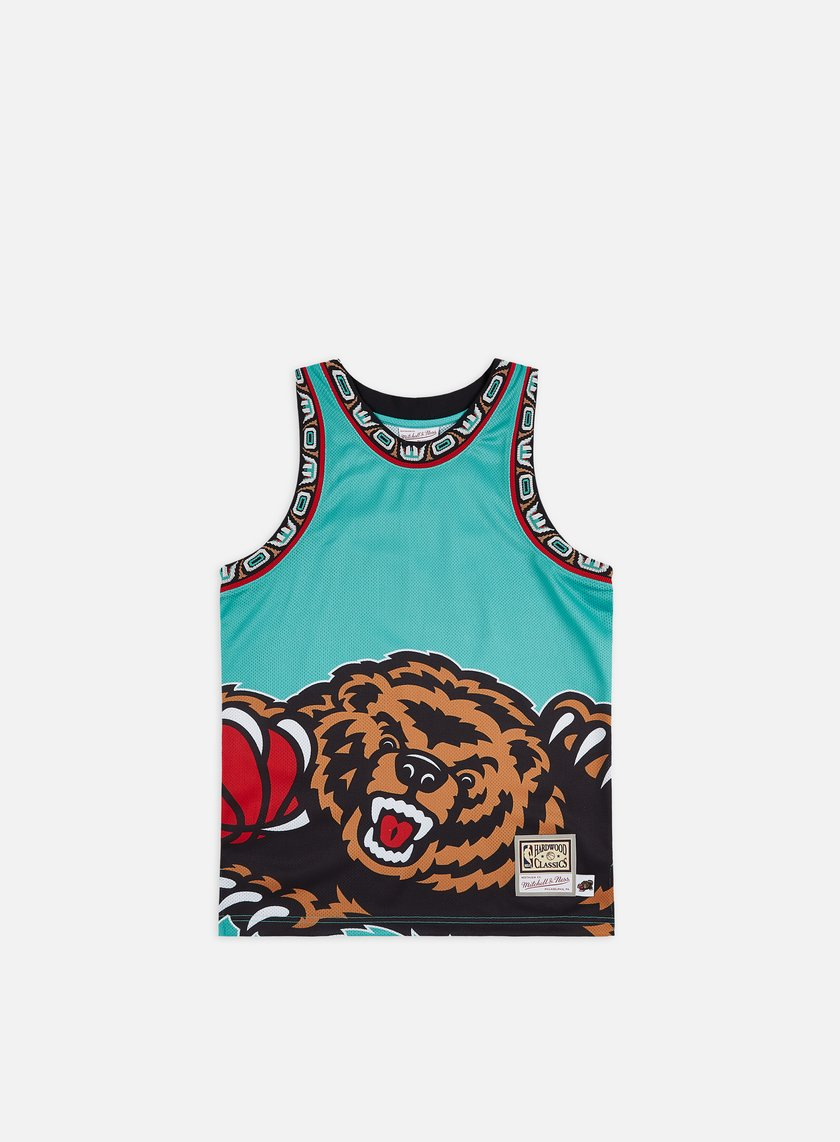 Mitchell & Ness Big Face Jersey Vancouver Grizzlies