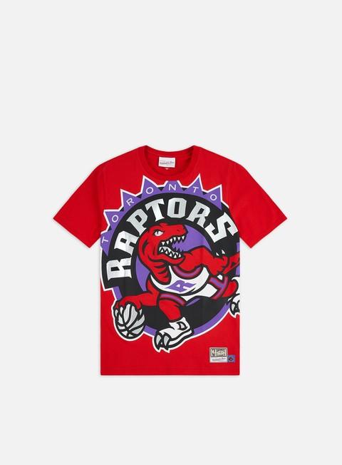 Outlet e Saldi T-shirt a manica corta Mitchell & Ness Big Face T-shirt Toronto Raptors