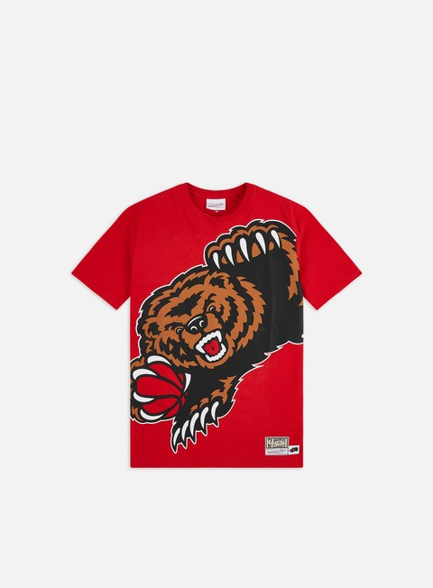 Short Sleeve T-shirts Mitchell & Ness Big Face T-shirt Vancouver Grizzlies