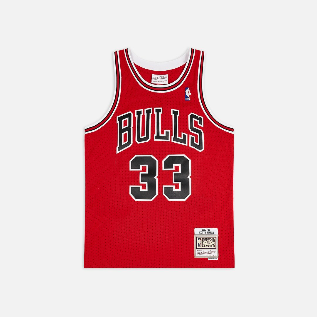 Mitchell & Ness Chicago Bulls 97-98 Swingman Jersey Scottie Pippen Men