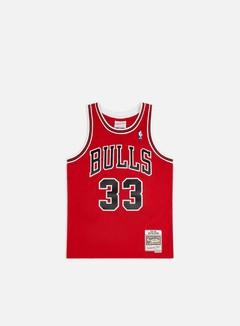 Mitchell & Ness - Chicago Bulls Swingman Jersey Scottie Pippen, Red/Black 1