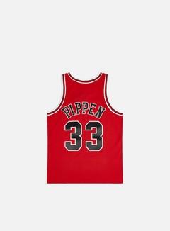 Mitchell & Ness - Chicago Bulls Swingman Jersey Scottie Pippen, Red/Black 2