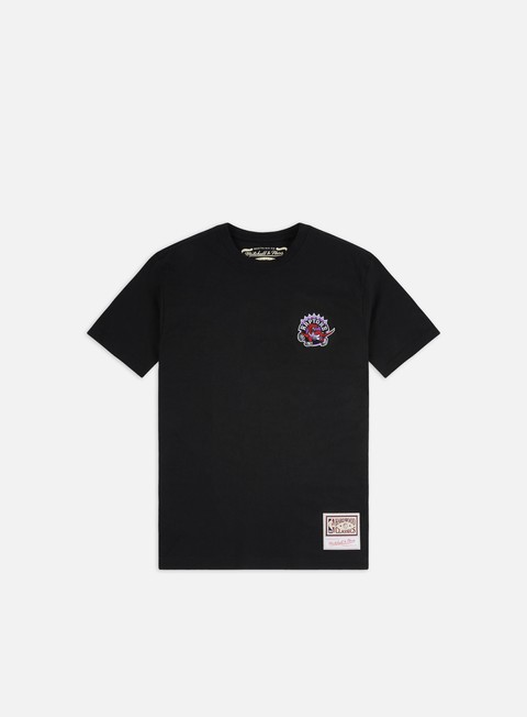 T-shirt a Manica Corta Mitchell & Ness Embroidered Logo T-shirt Toronto Raptors