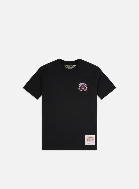 Outlet e Saldi T-shirt a Manica Corta Mitchell & Ness Embroidered Logo T-shirt Toronto Raptors