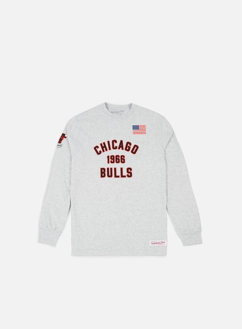 T-shirt a Manica Lunga Mitchell & Ness Estabished Year LS T-shirt Chicago Bulls