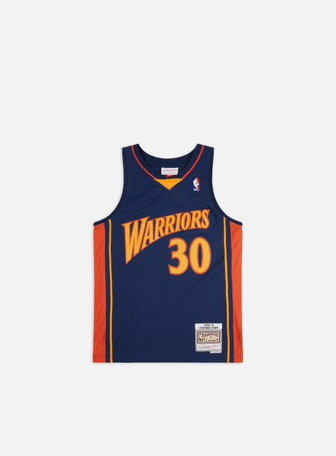 Mitchell & Ness Golden State Warriors 09-10 Swingman Jersey Curry