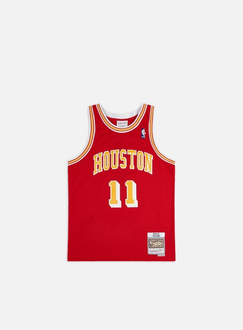 Canotte da Basket Mitchell & Ness Houston Rockets 04-05 Swingman Jersey Yao Ming