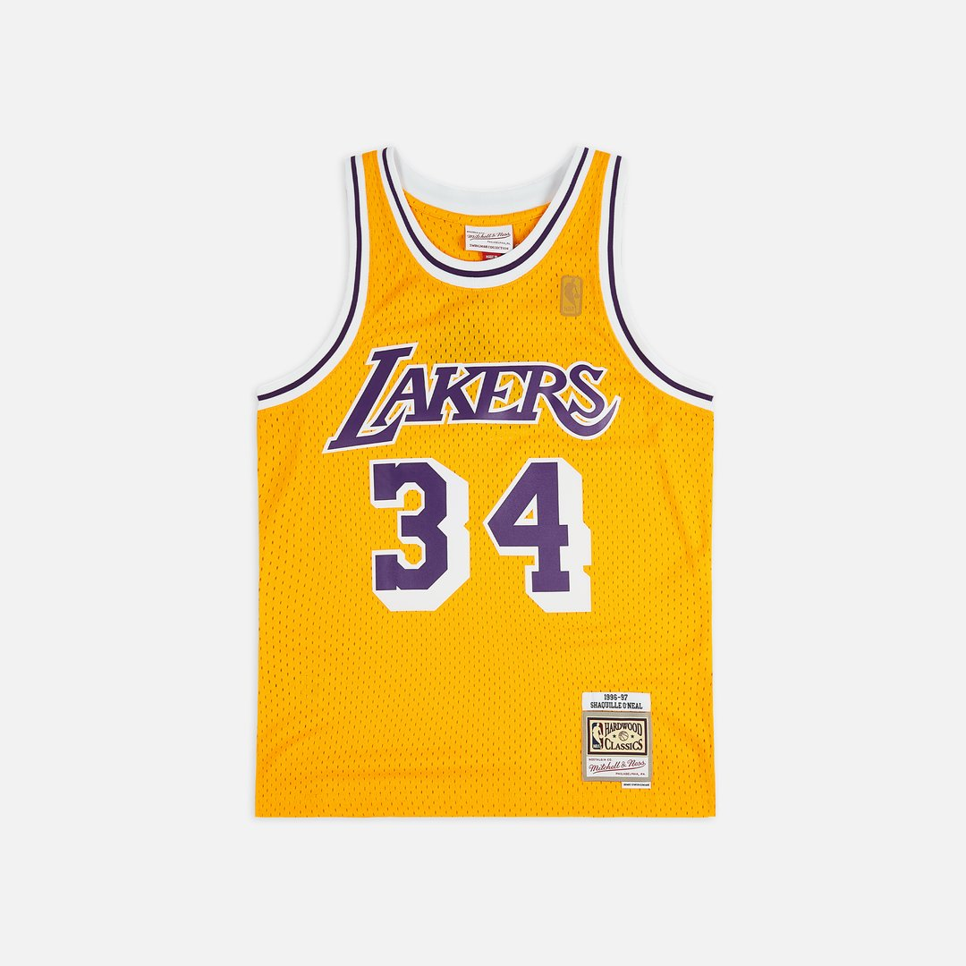 Mitchell & Ness LA Lakers 96-97 Swingman Jersey Shaquille O'Neal Men