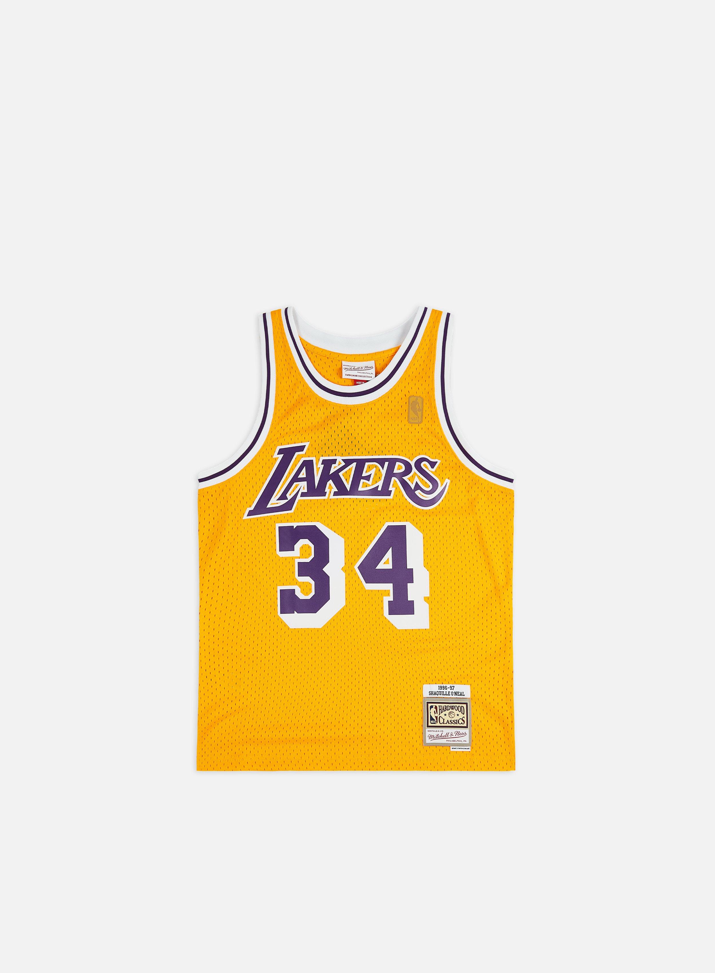 LA Lakers 96- 97 Swingman Jersey Shaquille O'Neal