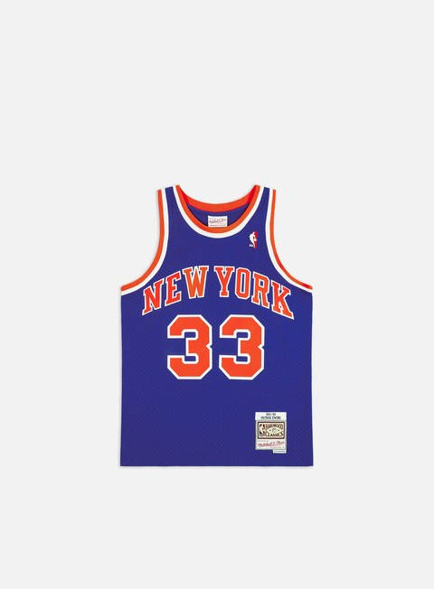 t shirt mitchell e ness ny knicks swingman jersey patrick ewing royal orange