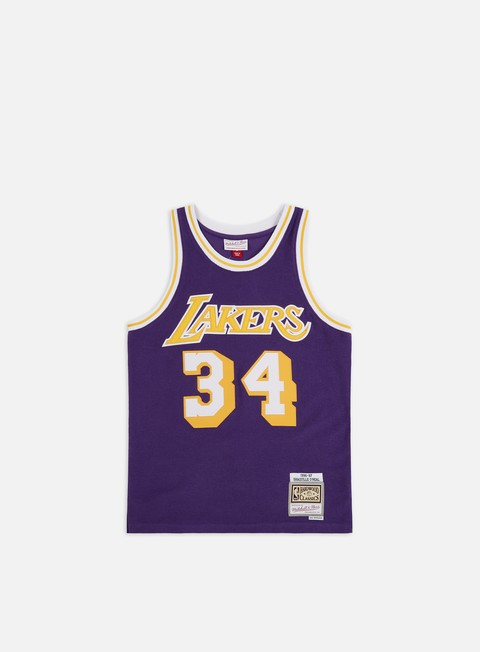 Basketball Jerseys Mitchell & Ness Reversed Fleece Swingman Jersey O' Neal LA Lakers