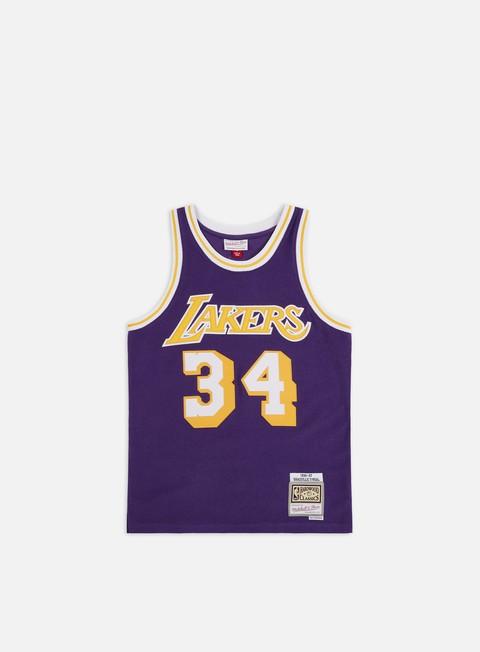 Canotte da Basket Mitchell & Ness Reversed Fleece Swingman Jersey O' Neal LA Lakers
