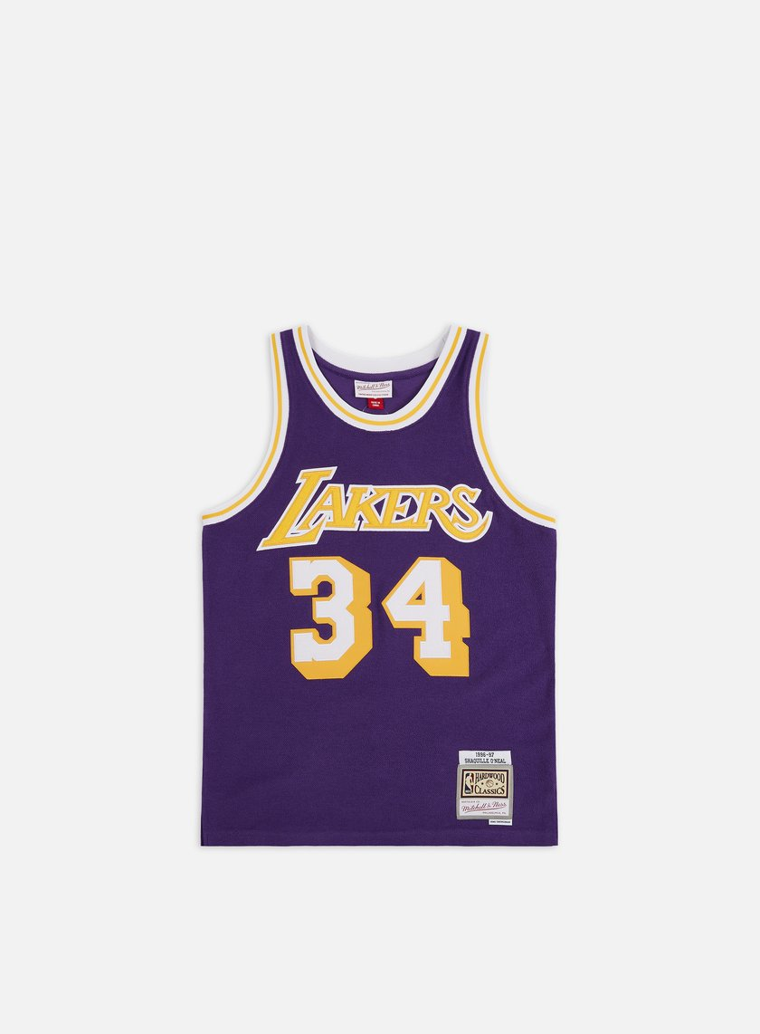 Mitchell & Ness Reversed Fleece Swingman Jersey O' Neal LA Lakers