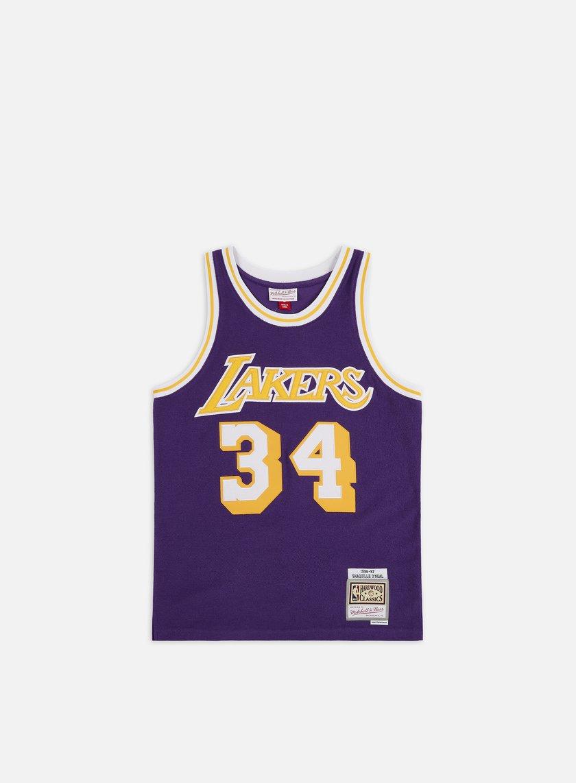Mitchell & Ness Reversed Fleece Swingman Jersey O' Neal LA Lakers