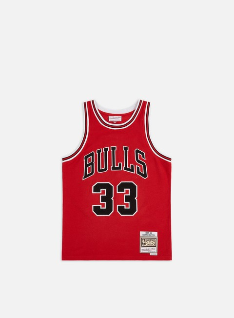 Basketball Jerseys Mitchell & Ness Reversed Fleece Swingman Pippen Jersey Chicago Bulls