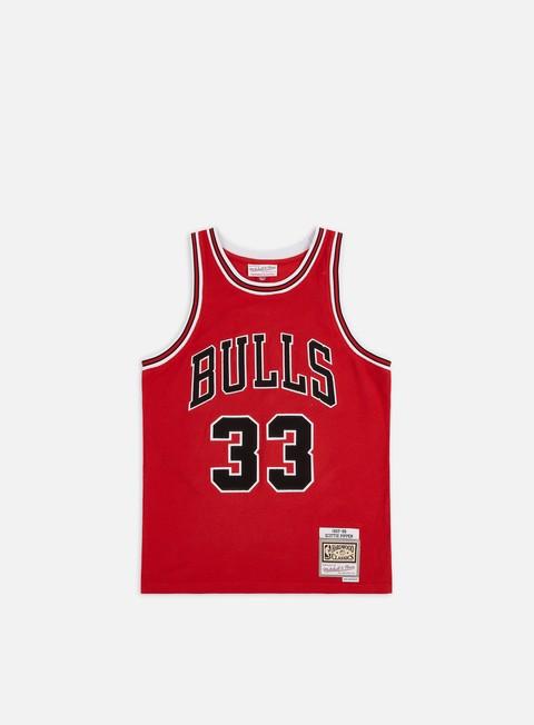 Canotte da Basket Mitchell & Ness Reversed Fleece Swingman Pippen Jersey Chicago Bulls