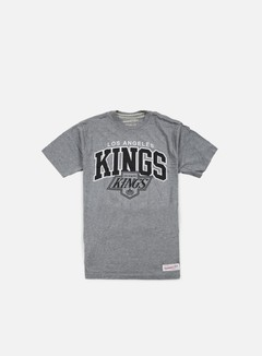Mitchell & Ness - Team Arch Tailored T-shirt LA Kings, Grey Heather