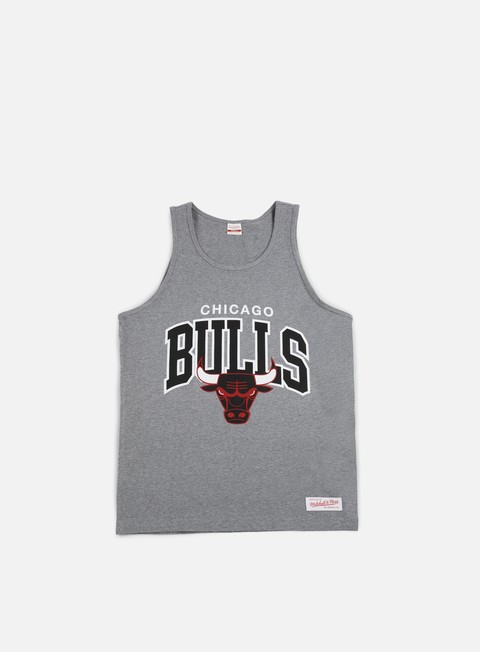 Outlet e Saldi Canotte Mitchell & Ness Team Arch Tank Top Chicago Bulls