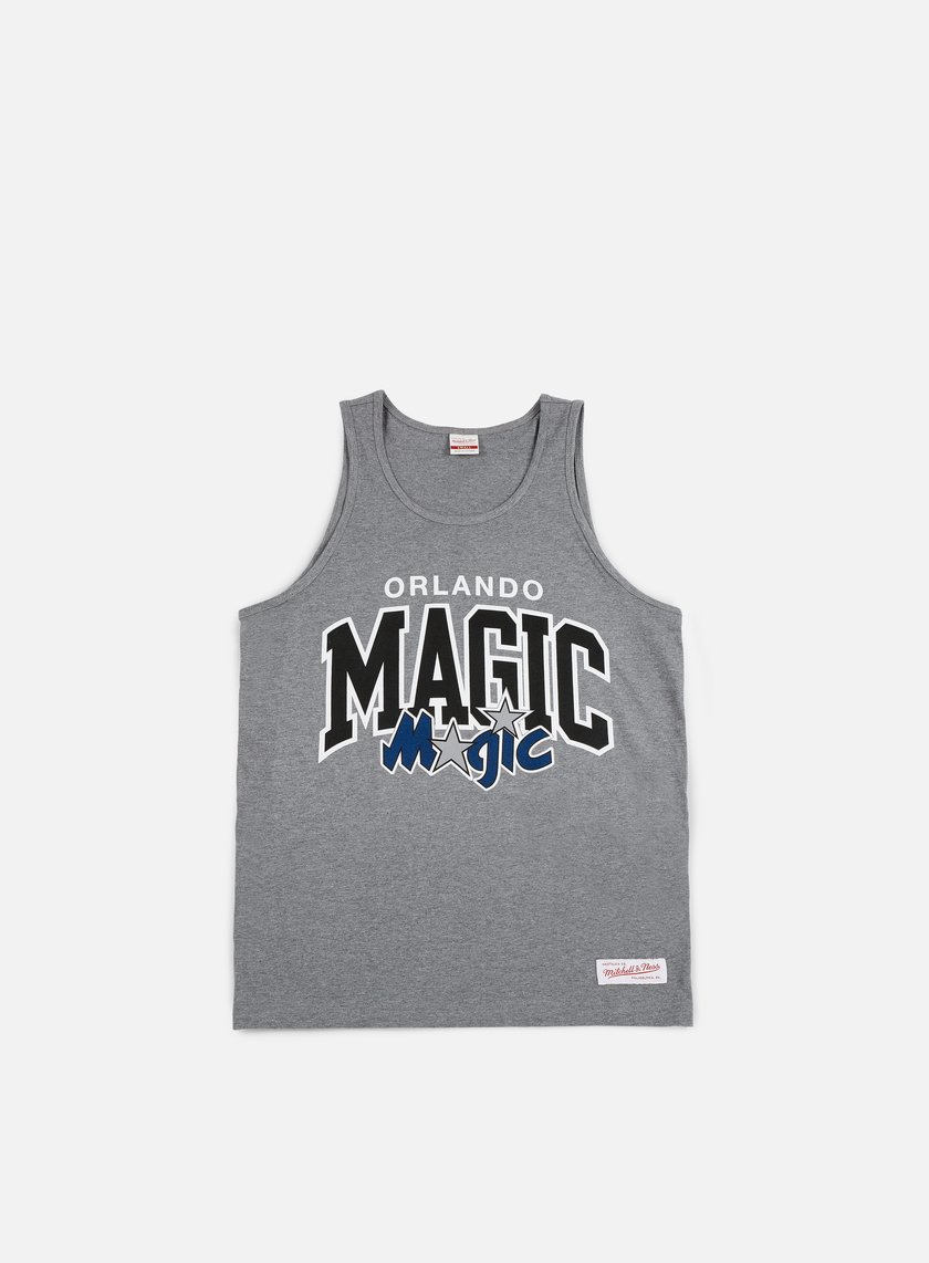 Mitchell & Ness - Team Arch Tank Top Orlando Magic, Grey Heather