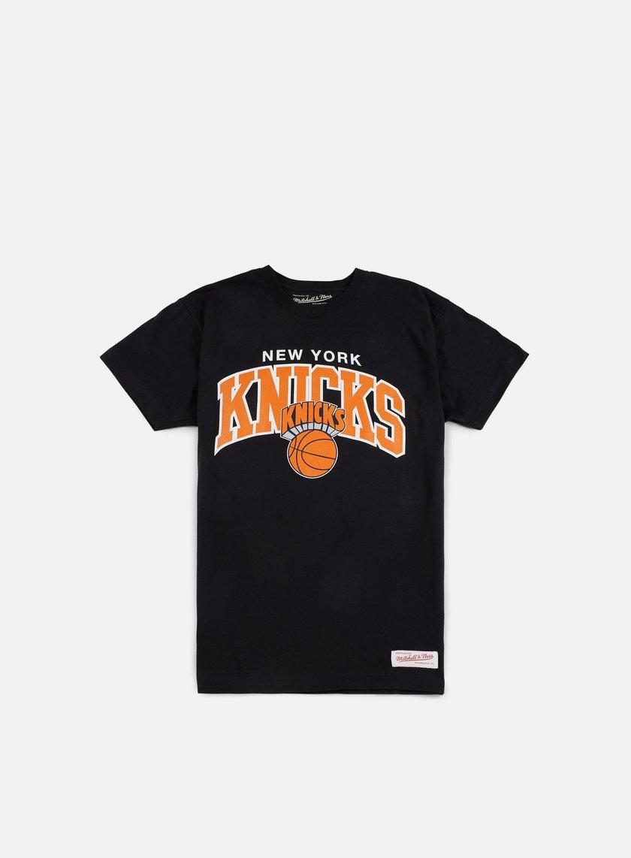 Mitchell & Ness Team Arch Traditional T-shirt NY Knicks