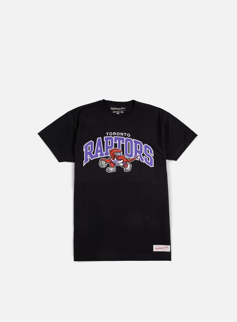 t shirt mitchell e ness team arch traditional t shirt toronto raptors black