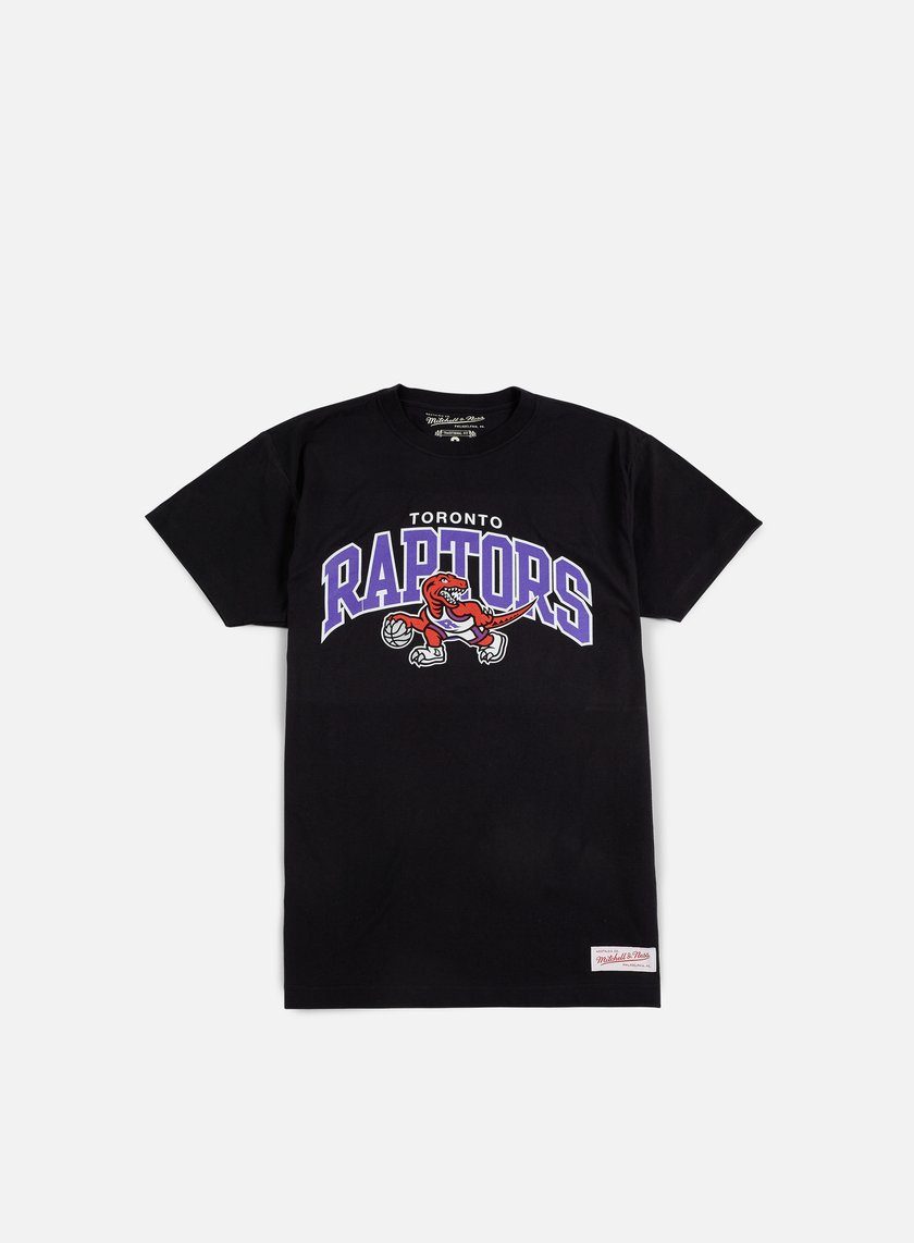 Mitchell & Ness - Team Arch Traditional T-shirt Toronto Raptors, Black
