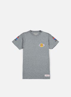 Mitchell & Ness - Team History Traditional T-shirt LA Lakers, Grey 1