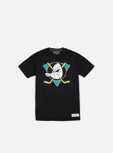 Outlet e Saldi T-shirt a manica corta Mitchell & Ness Team Logo Tailored T-shirt Anaheim Ducks