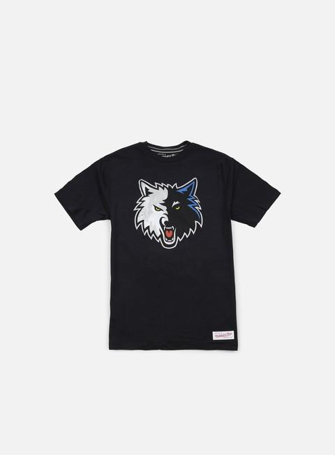 Outlet e Saldi T-shirt a manica corta Mitchell & Ness Team Logo Tailored T-shirt Minnesota Timberwolves