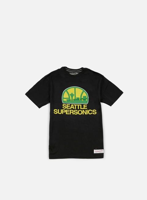 Outlet e Saldi T-shirt a manica corta Mitchell & Ness Team Logo Tailored T-shirt Seattle Supersonics