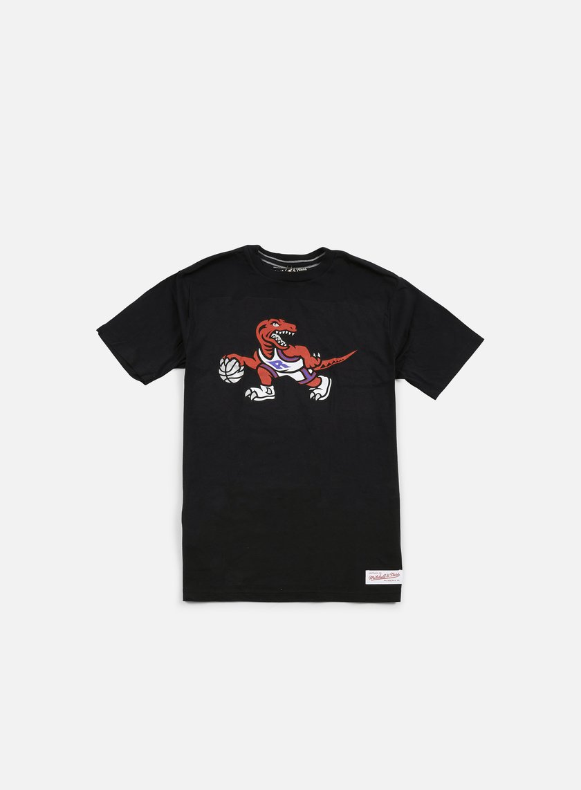 Mitchell & Ness - Team Logo Tailored T-shirt Toronto Raptors, Black