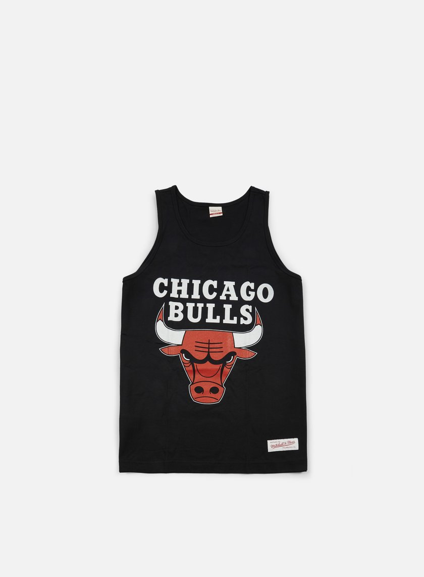 Mitchell & Ness - Team Logo Tank Top Chicago Bulls, Black