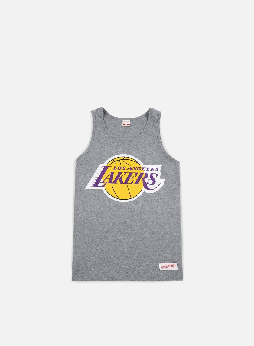 Mitchell & Ness - Team Logo Tank Top LA Lakers, Grey