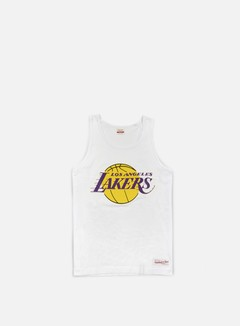 Mitchell & Ness - Team Logo Tank Top LA Lakers, White