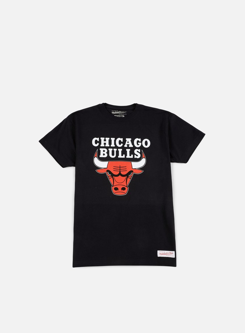 Mitchell & Ness - Team Logo Traditional T-shirt Chicago Bulls, Black