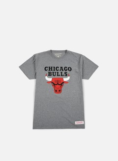 Mitchell & Ness - Team Logo Traditional T-shirt Chicago Bulls, Grey