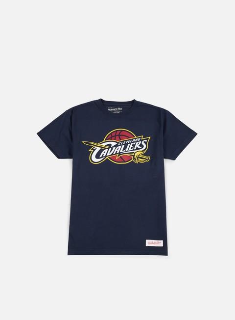 Outlet e Saldi T-shirt a manica corta Mitchell & Ness Team Logo Traditional T-shirt Cleveland Cavaliers