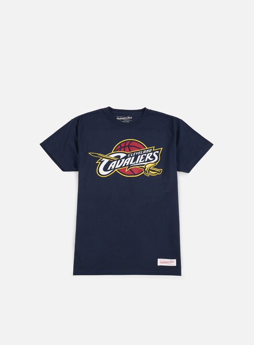 Mitchell & Ness - Team Logo Traditional T-shirt Cleveland Cavaliers, Navy